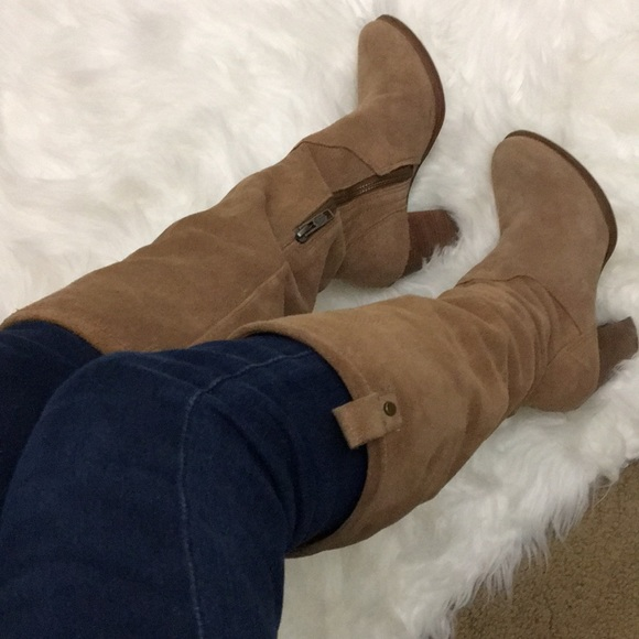 375c2970b12 Ugg tall suede boots